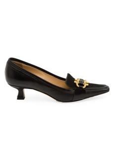 Bottega Veneta Lux Calf Hair Leather Loafers
