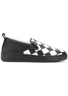 Bottega Veneta Maxi intreccio slip-on sneakers