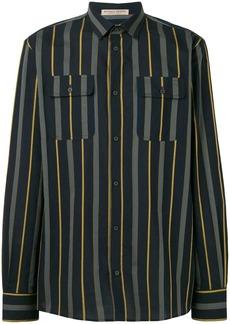 Bottega Veneta multi-stripe shirt