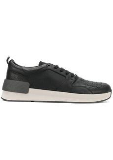 Bottega Veneta nero calf bv grand sneaker