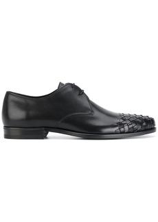 Bottega Veneta nero calf luton shoe