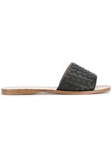 Bottega Veneta nero Intrecciato nappa ravello sandals