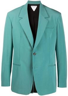 Bottega Veneta notched-lapel single-breasted blazer