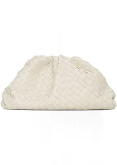Bottega Veneta Off-White Intrecciato 'The Pouch' Clutch