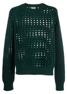 Bottega Veneta open cable-knit wool jumper