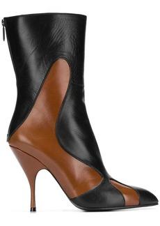Bottega Veneta pointed toe mid-calf boots