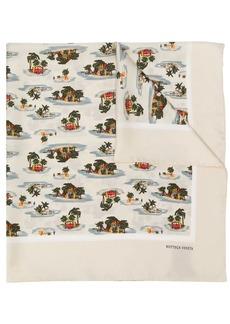 Bottega Veneta printed scarf