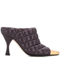 Bottega Veneta quilted square-toe mules