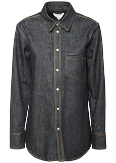 Bottega Veneta Raw Denim Shirt