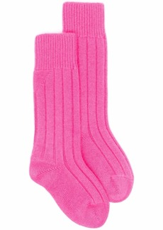 Bottega Veneta ribbed-knit cashmere socks