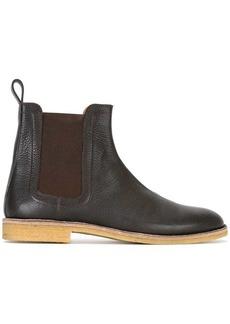 Bottega Veneta round toe boots