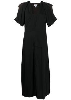 Bottega Veneta ruffle sleeve dress