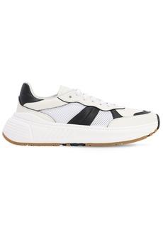 Bottega Veneta Speedster Leather & Tech Low Sneakers