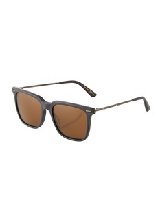 Bottega Veneta Square Metal Sunglasses
