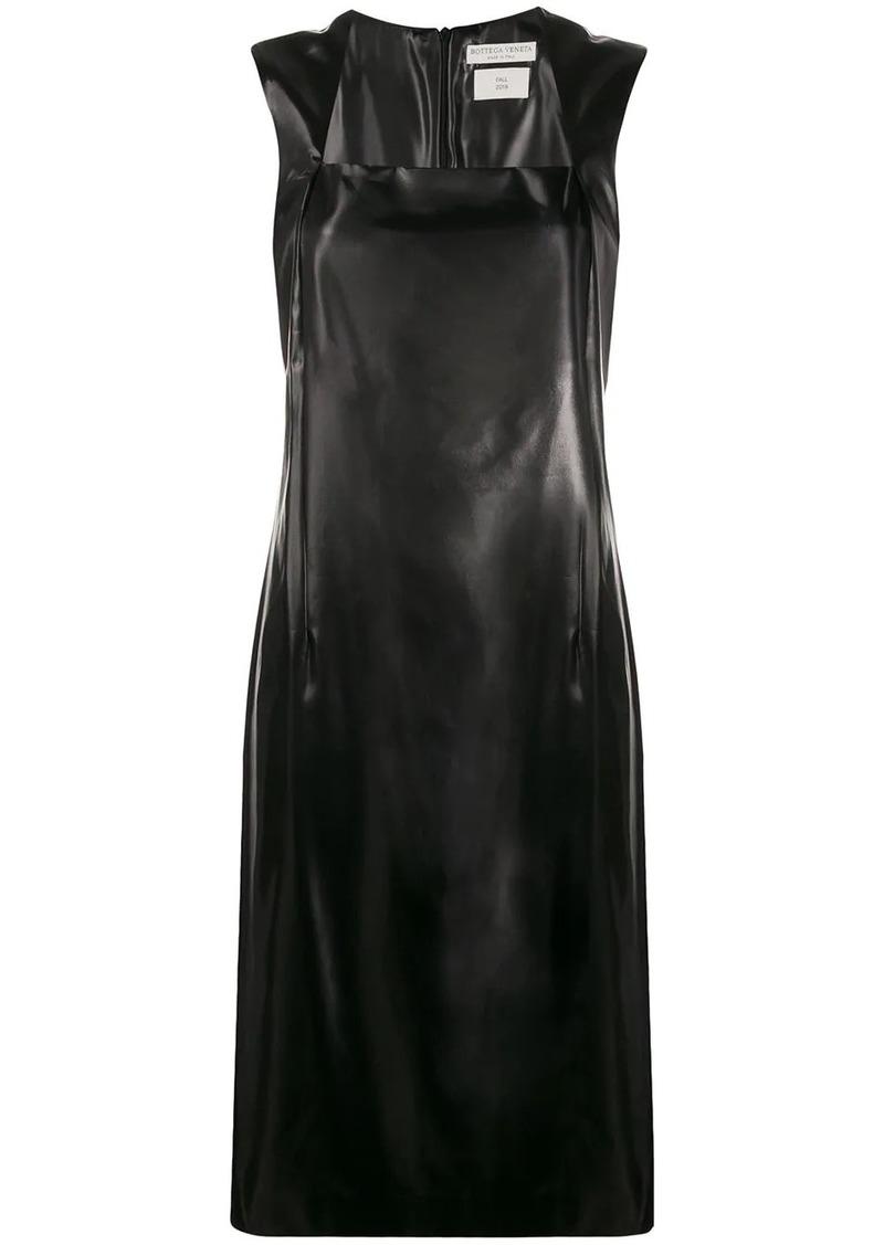 Bottega Veneta square neck dress