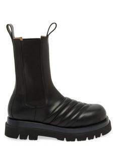 Bottega Veneta Storm Leather Combat Boots