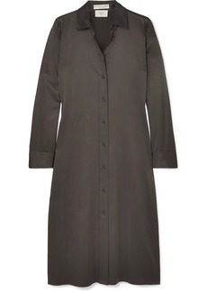 Bottega Veneta Stretch-silk Satin Shirt Dress