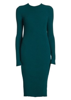 Bottega Veneta Stretch Viscose Ribbed Dress