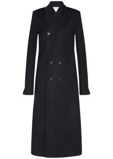 Bottega Veneta Stretch Wool Twill Double Breast Coat