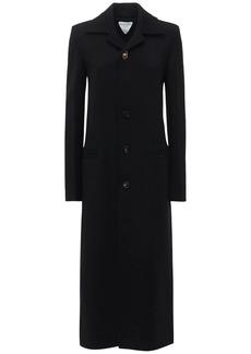 Bottega Veneta Stretch Wool Twill Long Coat