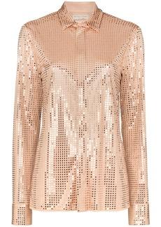 Bottega Veneta embellished button-down shirt