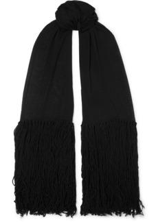 Bottega Veneta Tasseled Cashmere And Wool-blend Wrap