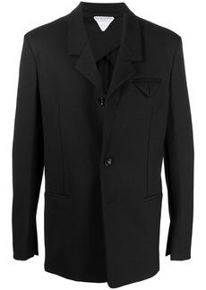 Bottega Veneta tech style blazer jacket