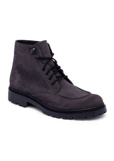 Bottega Veneta Textured Lace-Up Boots