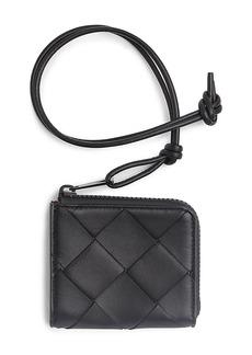 Bottega Veneta Textured Leather Zip Pouch