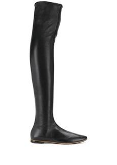Bottega Veneta thigh-high sock boots