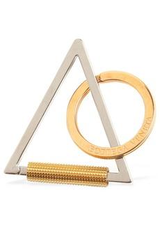 Bottega Veneta Triangle Metal Key-holder