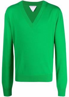 Bottega Veneta V-neck knitted jumper