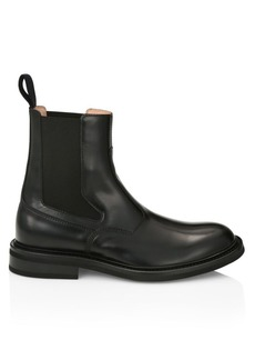Bottega Veneta Varenne Leather Chelsea Boots