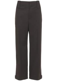 Bottega Veneta Waterproof Stretch Cotton Pants