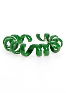 Women's Bottega Veneta Coil Cuff Bracelet