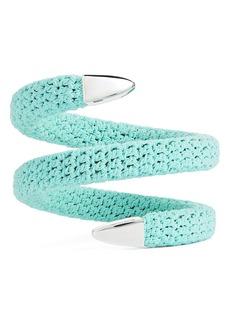 Women's Bottega Veneta Crochet Cuff Bracelet