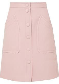 Bottega Veneta Wool-blend Drill Skirt