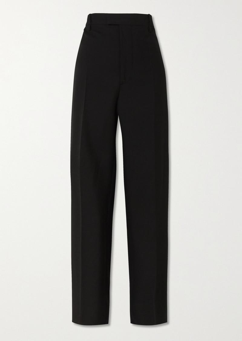 Bottega Veneta Wool-gabardine Wide-leg Pants