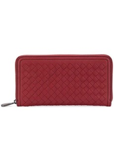 Bottega Veneta woven continental purse