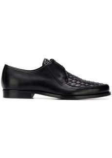 Bottega Veneta woven Derby shoes