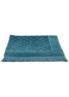 Bottega Veneta woven effect beach towel
