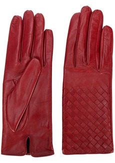Bottega Veneta woven effect gloves