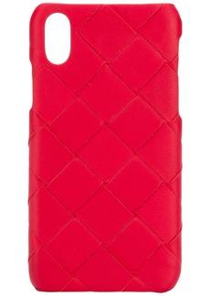 Bottega Veneta woven effect i-phone X case