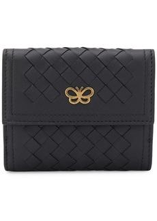 Bottega Veneta woven French wallet