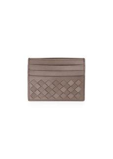 Bottega Veneta Woven Leather Card Case