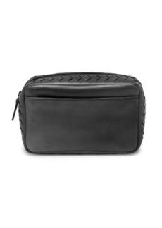 Bottega Veneta Woven Leather Cosmetic Case