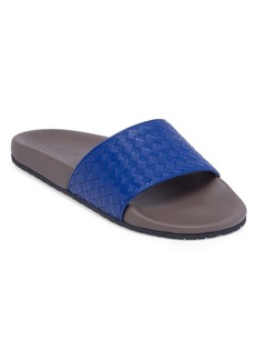 Bottega Veneta Woven Leather Slides