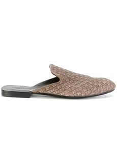 Bottega Veneta woven slippers