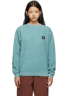 Brain Dead Green Reverse Fleece Sweatshirt