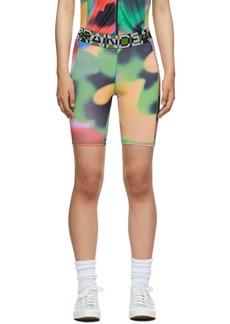Brain Dead Multicolor Watercolor Cycle Shorts